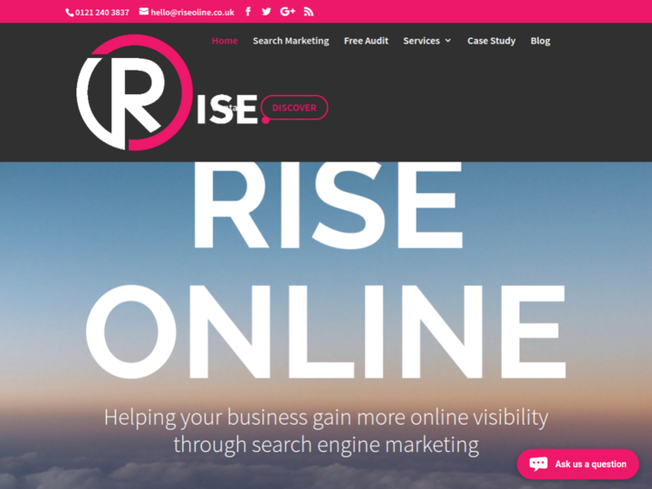 Rise Online on 10Hostings
