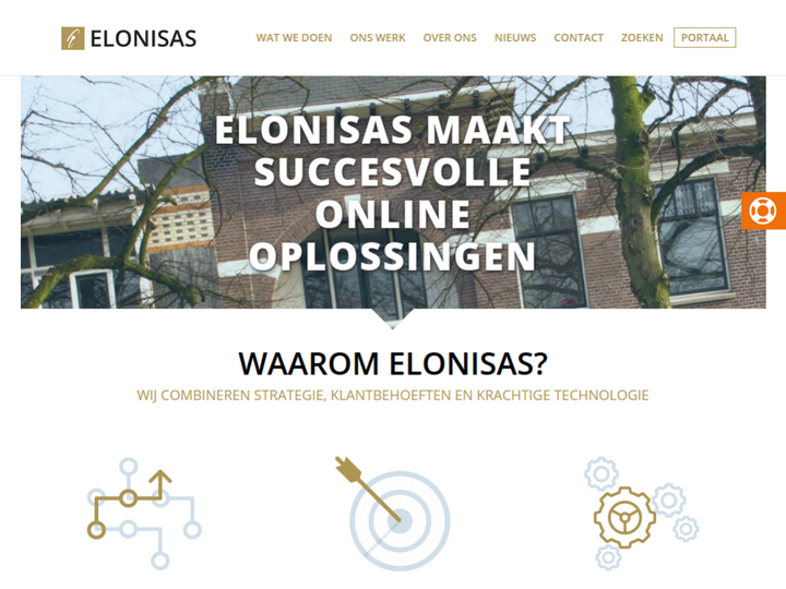 ELONISAS Groep on 10Hostings