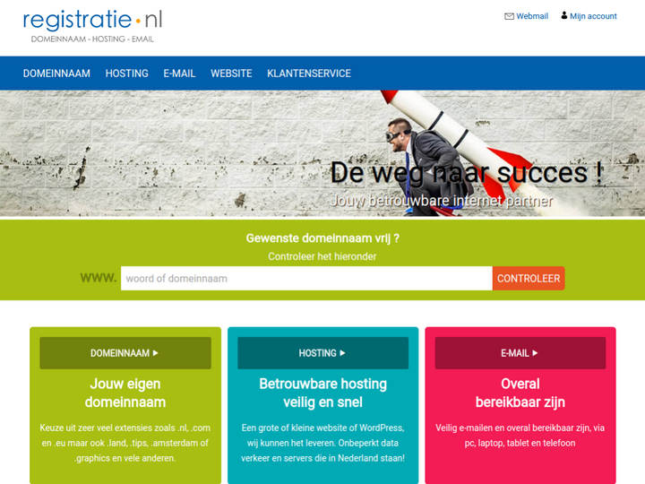 Registratie.nl on 10Hostings
