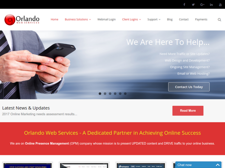 Orlando Web Services on 10Hostings