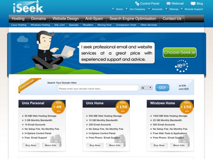 Seek Internet Solutions on 10Hostings