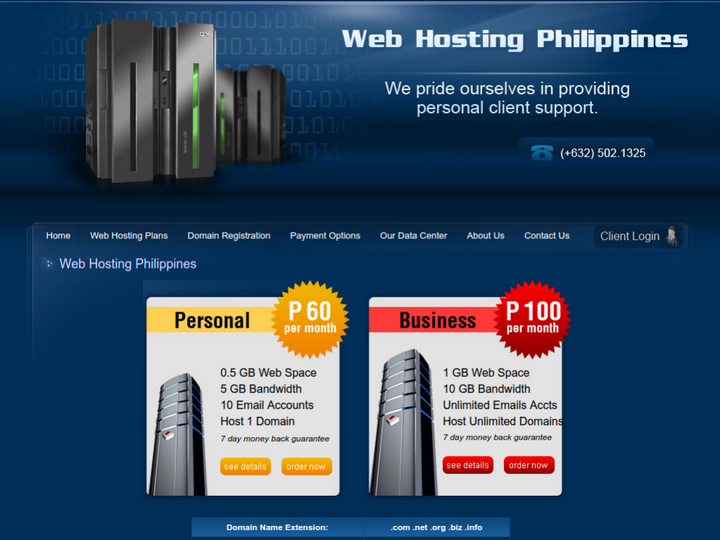 Web Hosting Philippines on 10Hostings