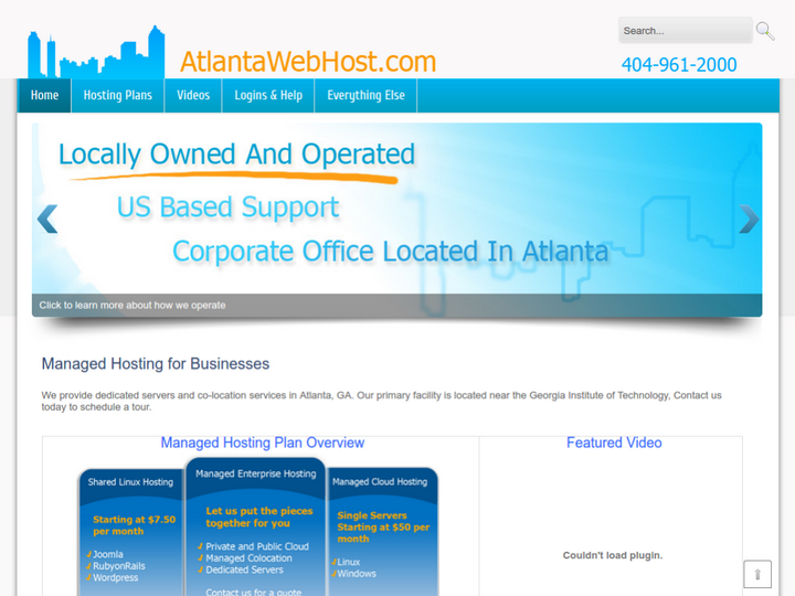 Atlanta Networking & Computer Help, Inc. on 10Hostings