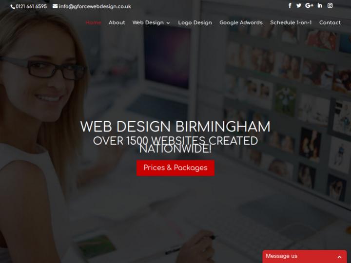 GForce Web Design on 10Hostings