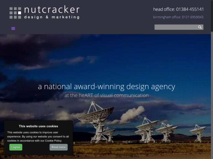 Nutcracker Design & Marketing on 10Hostings