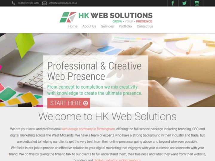 HK Web Solutions on 10Hostings