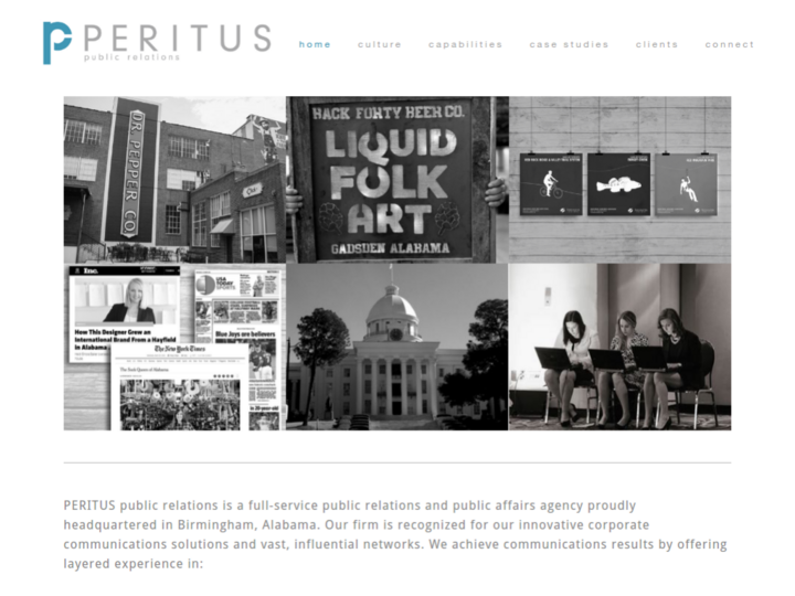 PERITUS public relations on 10Hostings