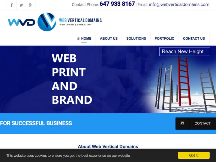 Web Vertical Domains on 10Hostings