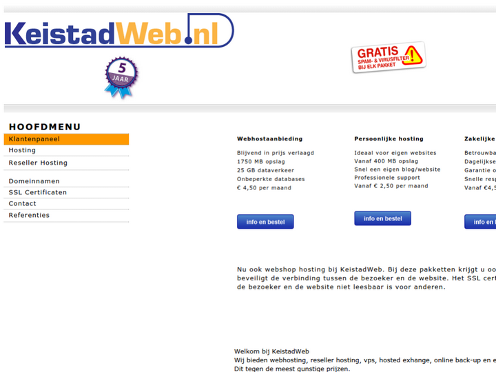 Keistad Web on 10Hostings