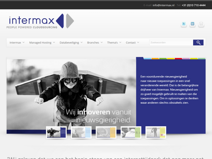 Intermax Managed Hosting on 10Hostings