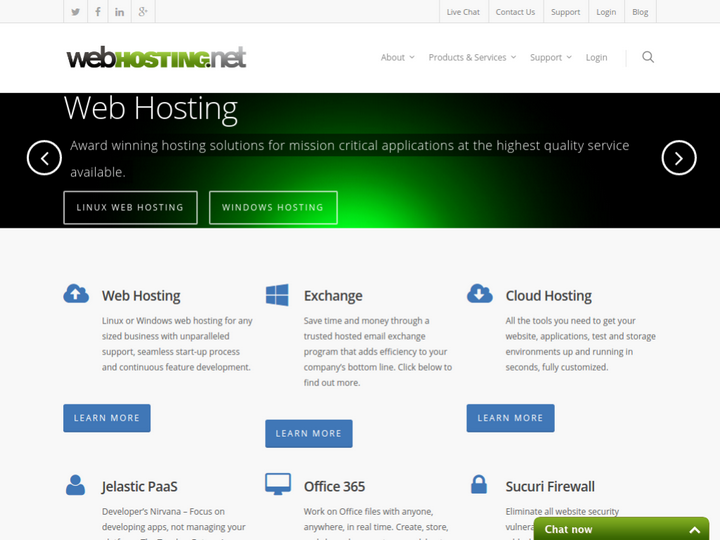 Web Hosting. Net on 10Hostings
