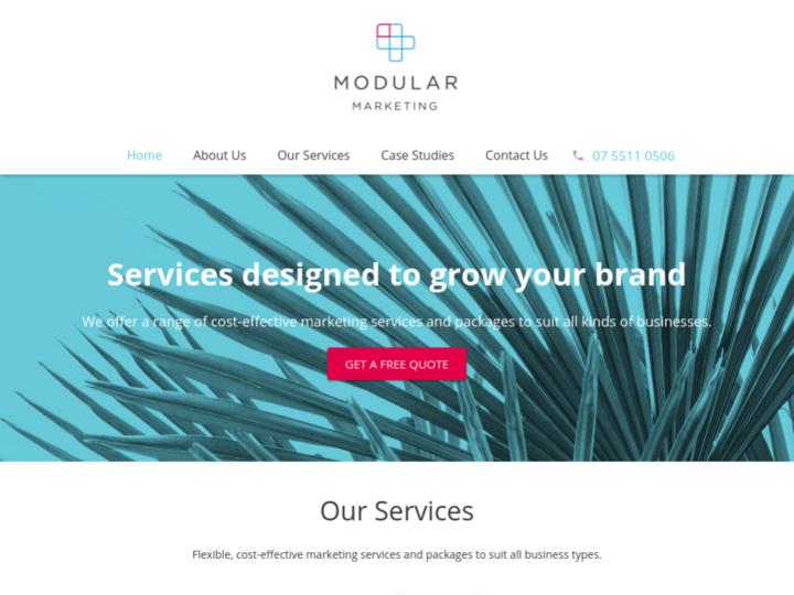 Modular Marketing on 10Hostings
