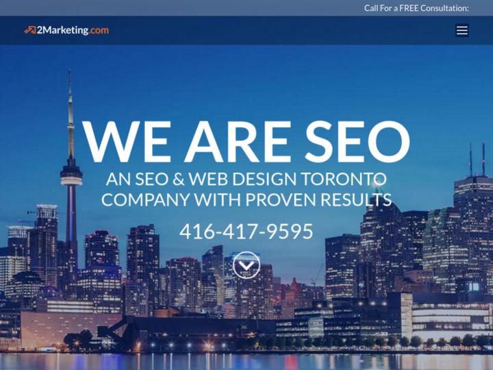 2Marketing SEO & Web Design on 10Hostings