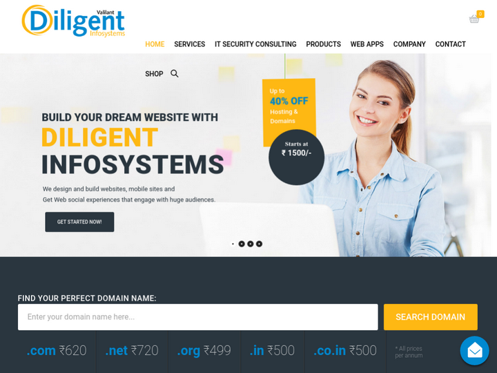 Vaillant Diligent Infosystems on 10Hostings