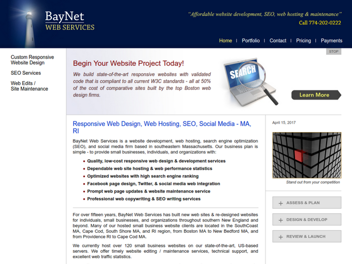 BayNet Web Services on 10Hostings