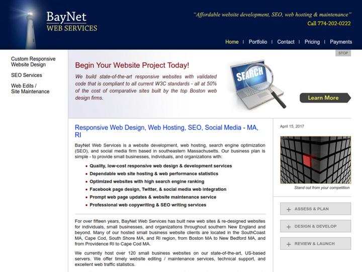 BayNet Web Services on 10Hostings