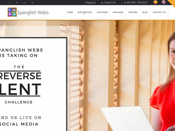 Spanglish Webs on 10Hostings