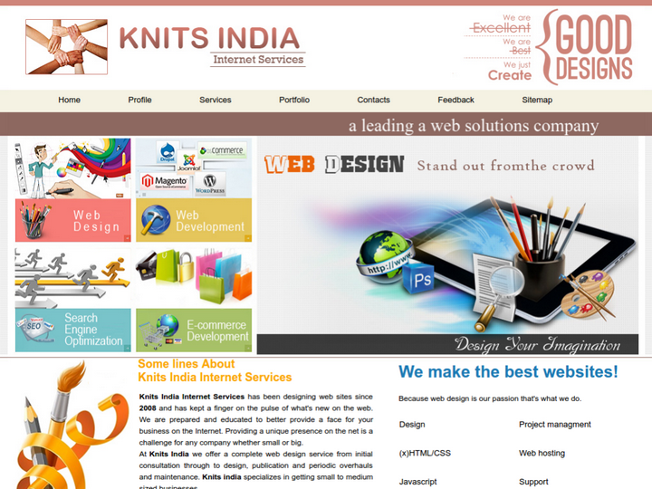 Knits India Internet Services on 10Hostings