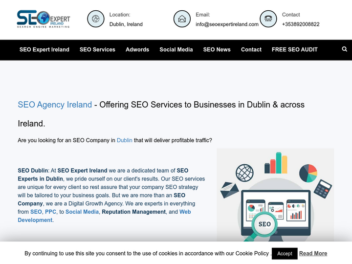 SEO Expert Ireland on 10Hostings