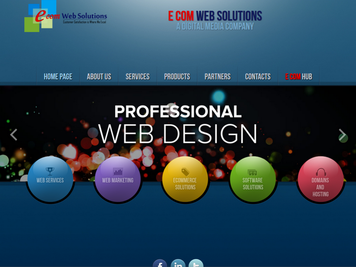 E Com Web Solutions on 10Hostings
