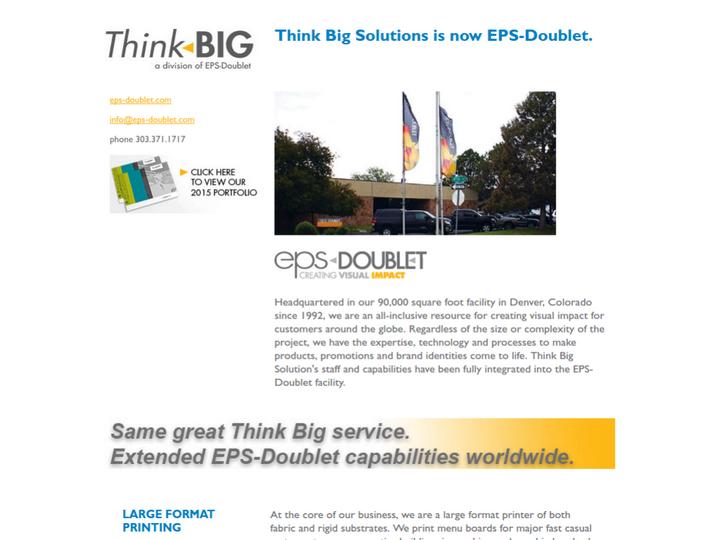 Think Big Solutions on 10Hostings