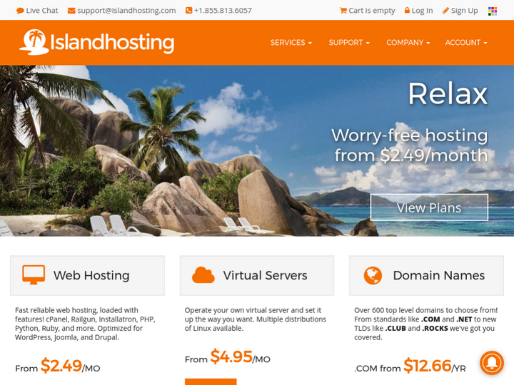 Island Net AMT Solutions on 10Hostings