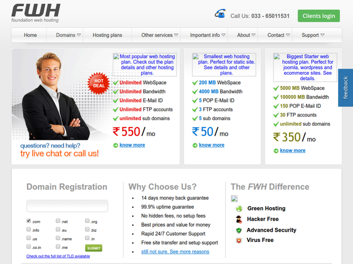 Foundation Web Hosting on 10Hostings