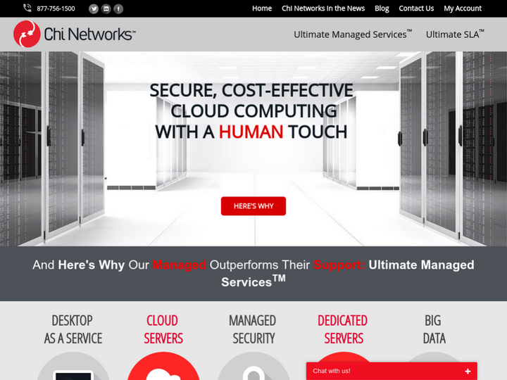 Chi Networks on 10Hostings