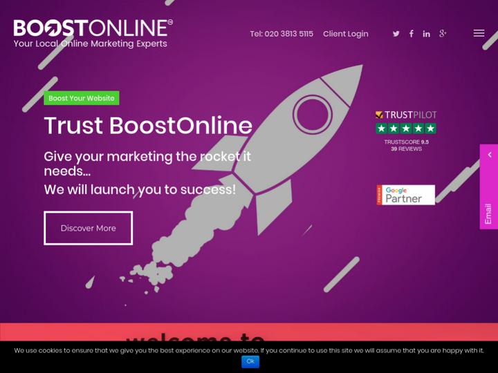 BoostOnline UK Group Ltd on 10Hostings