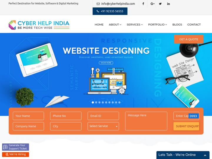 Cyber Help India on 10Hostings