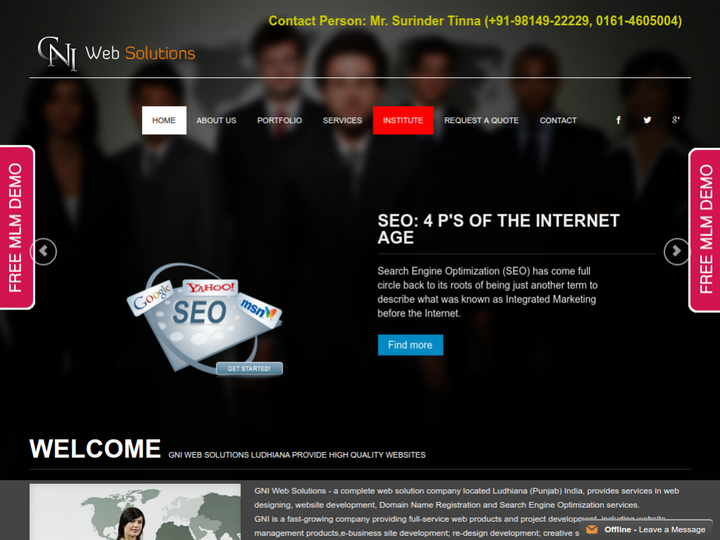 Gni Web Solutions on 10Hostings