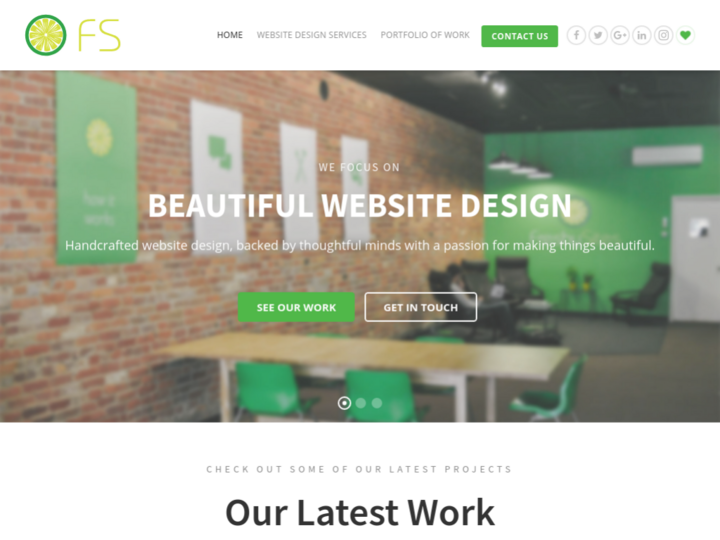 FreshySites – Website Design on 10Hostings