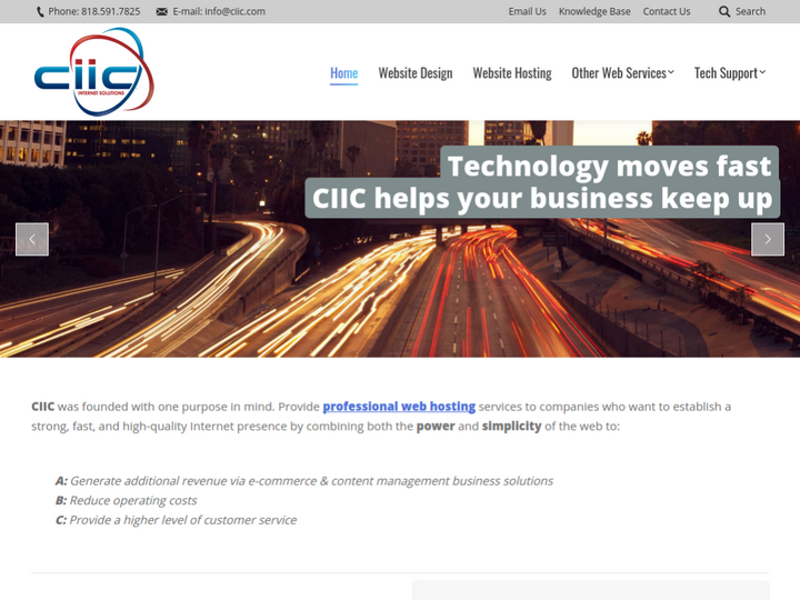 CIIC - Internet Solutions on 10Hostings
