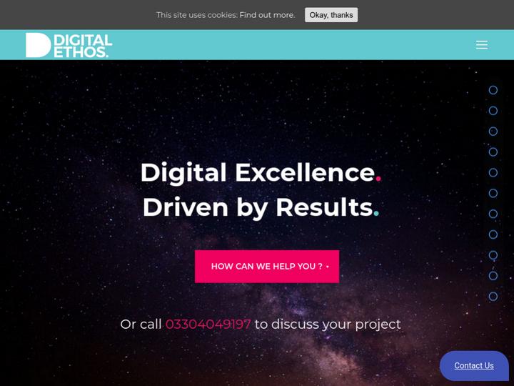 Digital Ethos on 10Hostings