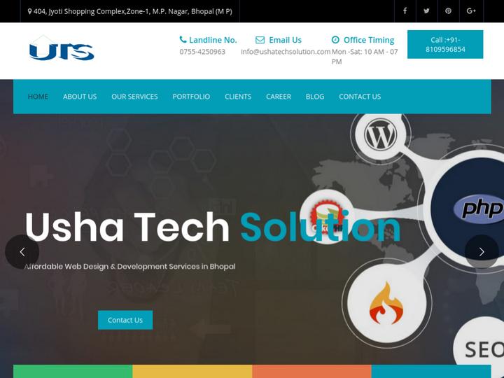 Usha Tech Solution on 10Hostings