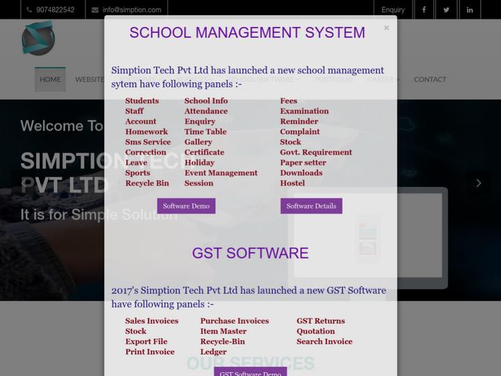 Simption Tech Pvt Ltd on 10Hostings