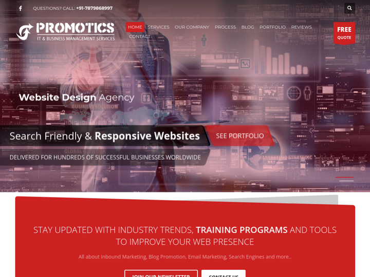 Promotics Web Services on 10Hostings