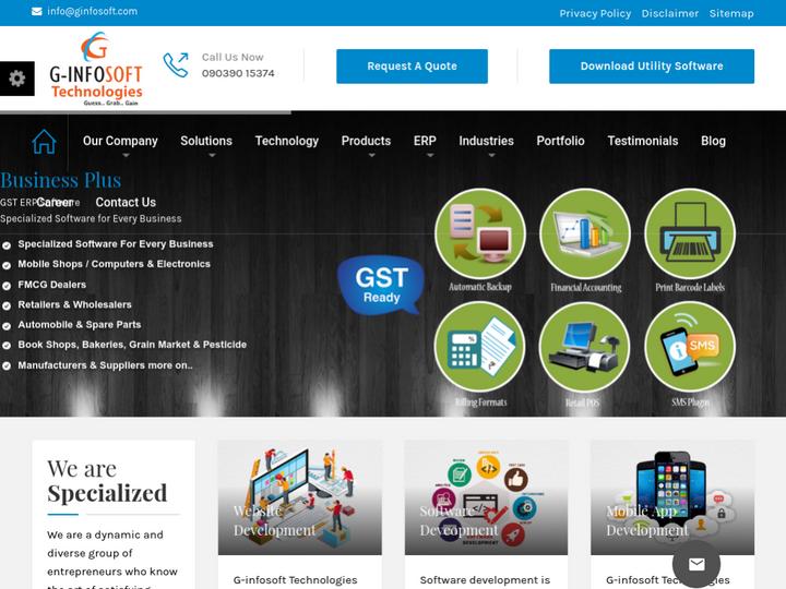 G-Infosoft Technologies on 10Hostings