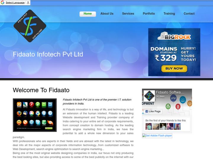 Fidaato Software Solution on 10Hostings