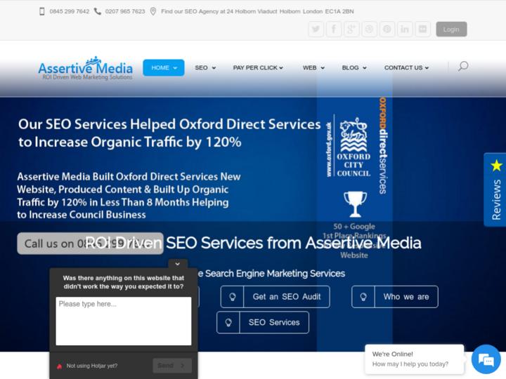 Assertive Media UK on 10Hostings