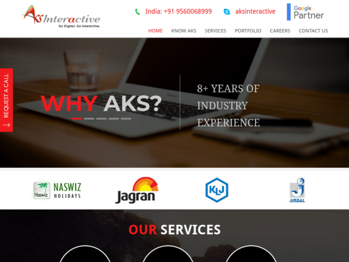 Aks Interactive Solutions Pvt. Ltd. on 10Hostings