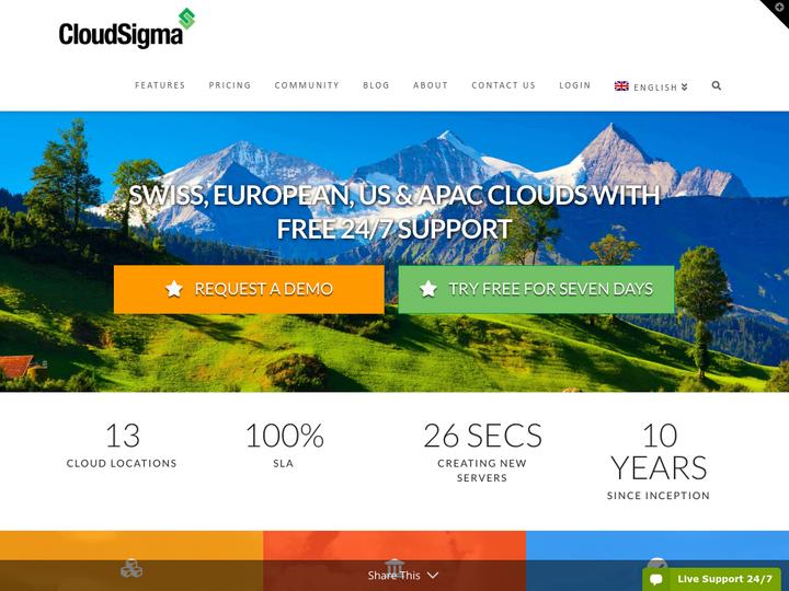 CloudSigma on 10Hostings