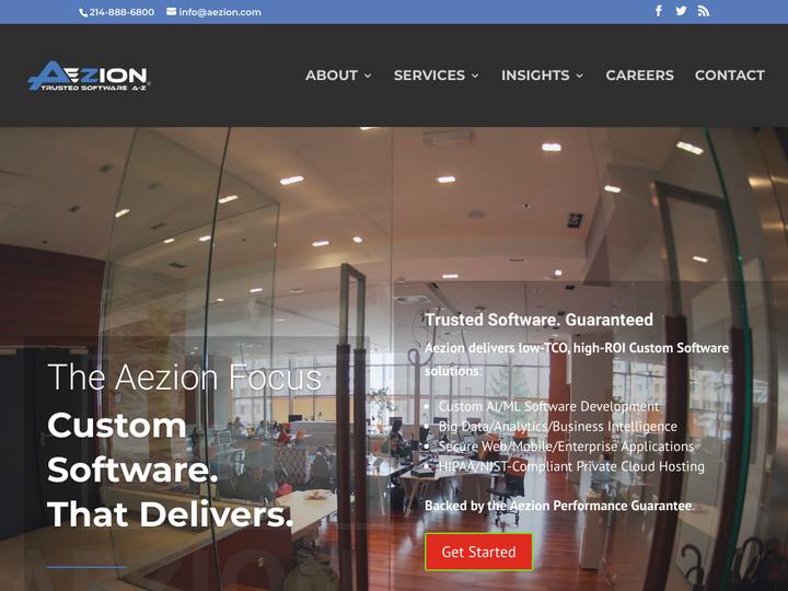 Aezion Inc on 10Hostings