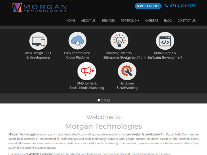 Morgan Technologies on 10Hostings