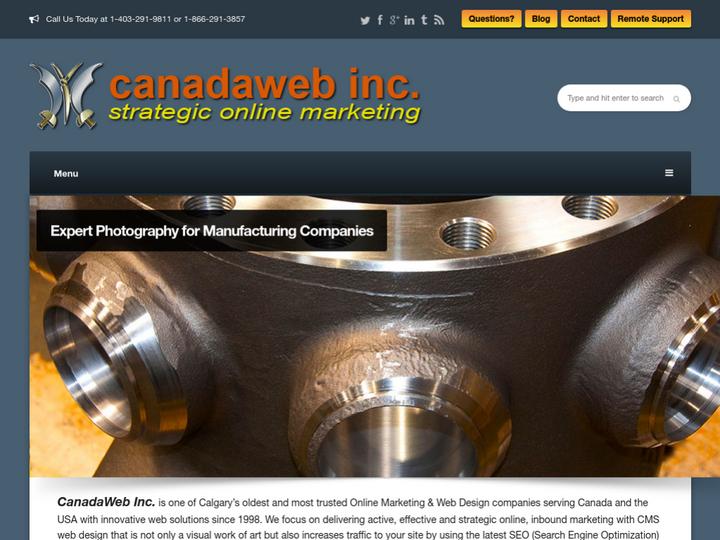 CanadaWeb Inc on 10Hostings