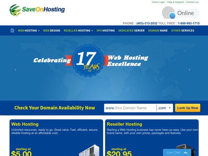 Save On Hosting on 10Hostings
