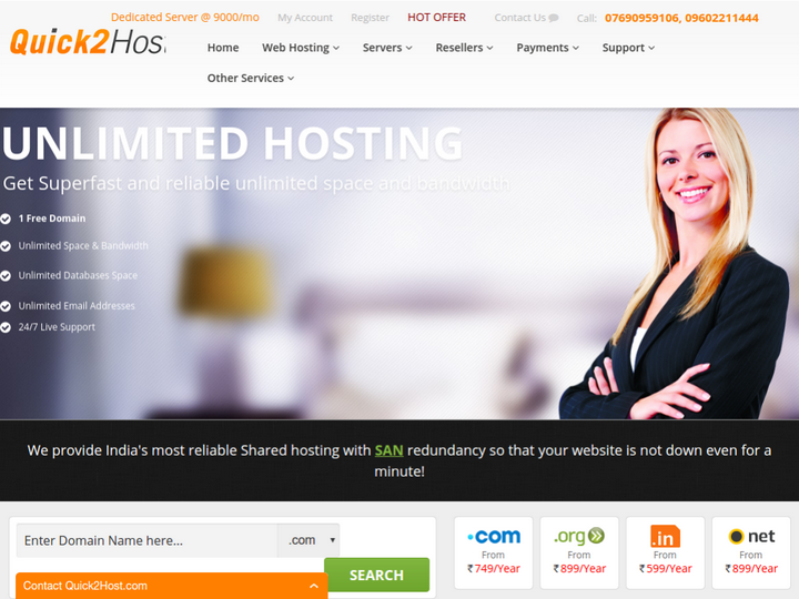 Quick 2 Host on 10Hostings
