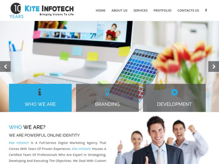 Kite Infotech on 10Hostings