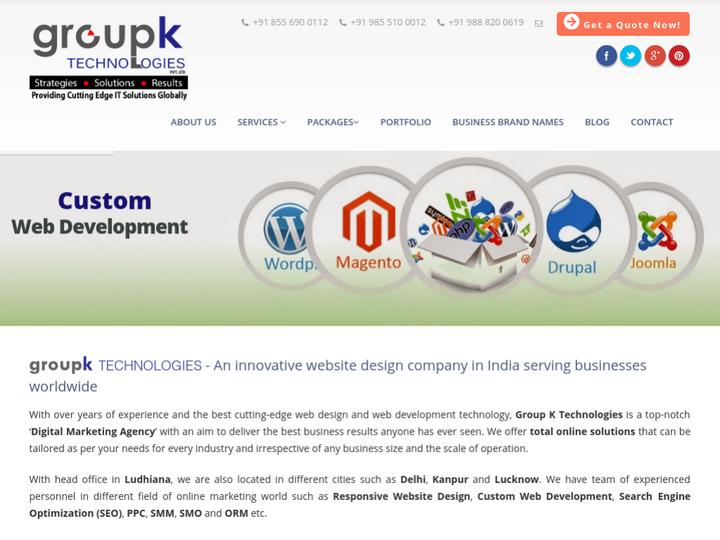 Groupk Technologies on 10Hostings