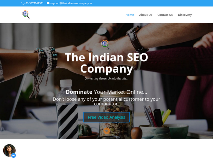 The Indian SEO Company on 10Hostings